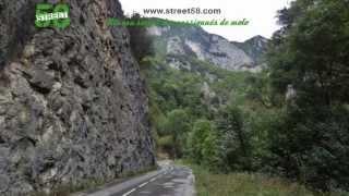Roadbook moto  Ariège : Les Gorges de Saint Georges