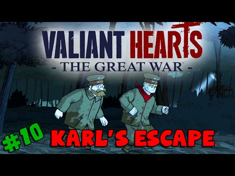 Valiant Hearts: The Great War - Karl's Escape (#10)