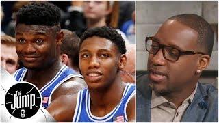 Tracy McGrady refuses to talk Zion Williamson: 'I talk NBA basketball' | The Jump
