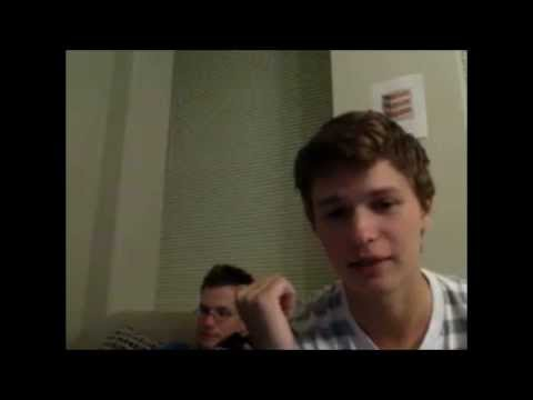 Ansel Elgort Live Stream September 2013 ft John Green