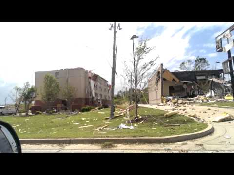 Tupelo Tornado Destruction