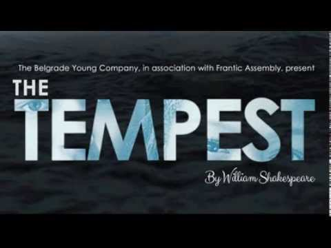 Audience reaction to The Tempest