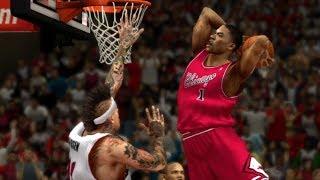 Derrick Rose's Knee Looks Fine To Me! NBA 2K14 100 Point