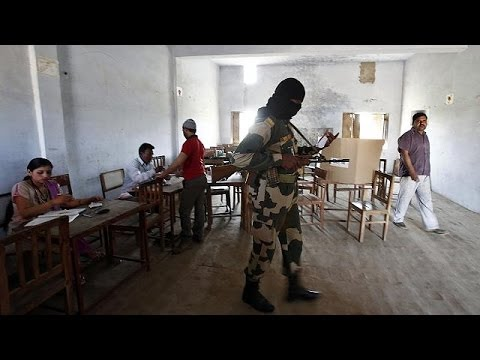 Delhi votes in marathon India general election