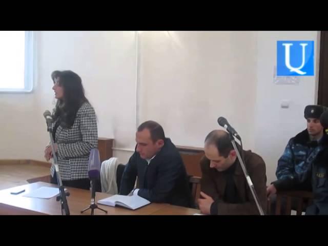 Փաստաբան Լուսինե Սահակյանը դատավորից խնդրեց արդարադատություն իրականացնել