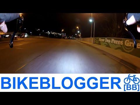 New Night Bike Commute Home! BikeBlogger