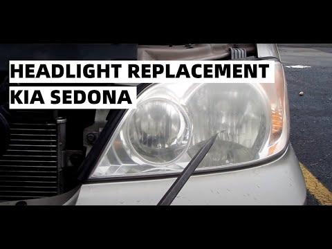 Service Manual Change Headl Bulb In A 2006 Kia Sportage