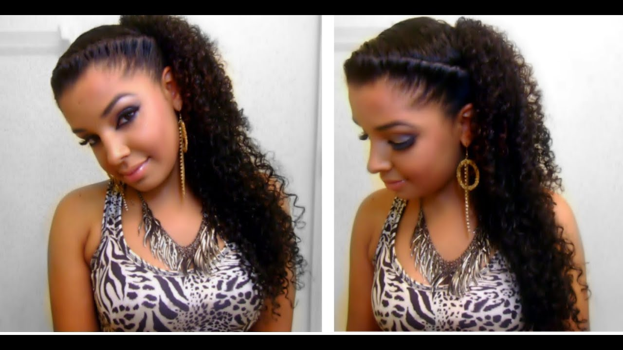Cute Natural Hairstyles for Mixed Curly Hair