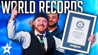 GUINNESS WORLD RECORDS on Britain's Got Talent 2017 | Got Talent Global