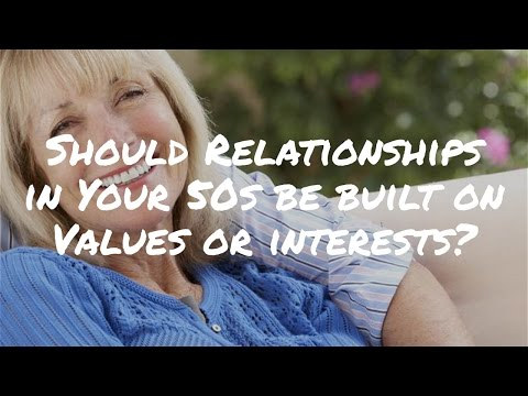 What's More Important – Common Values or Interests? Mature Dating Tips for Women