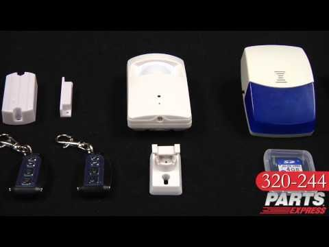 Talos Security WASPIR01 Wireless Alarm System