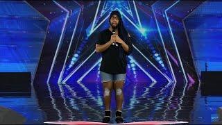 Starrkeisha on America's Got Talent! @TheKingOfWeird