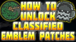 """GHOSTS"" HOW TO GET THE SECRET HIDDEN CLASSIFIED EMBLEM"