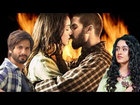 Shahid Kapoor & Shraddha Kapoor HOT KISS | Haider Official Movie Trailer | Hot News |