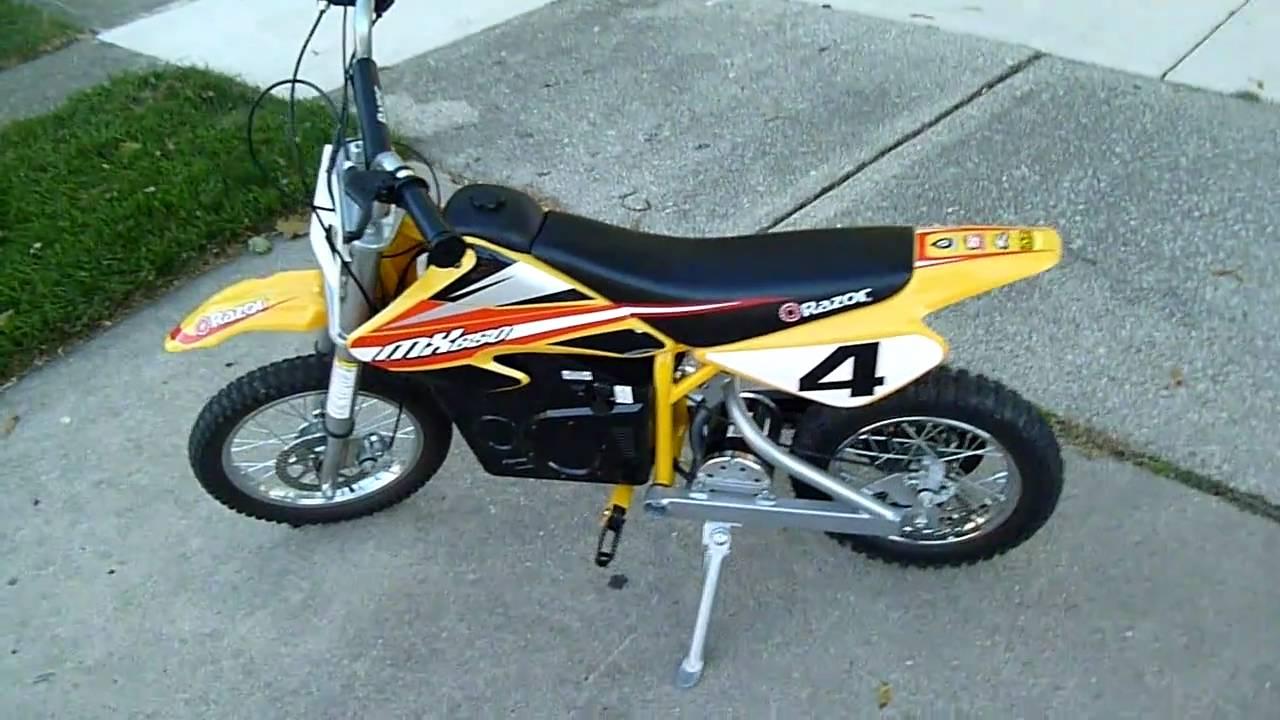 Motorcycle: Razor Motorcycle