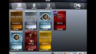 Injustice: 75 Gold Booster Pack Glitch (Maybe Patched And