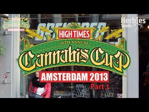 2013 Cannabis Cup Amsterdam (Part 1)