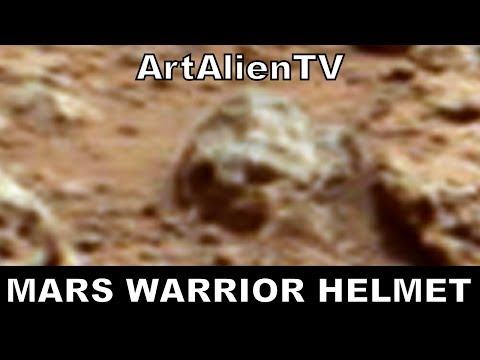 Mars Alien Warrior Helmet: NASA Curiosity