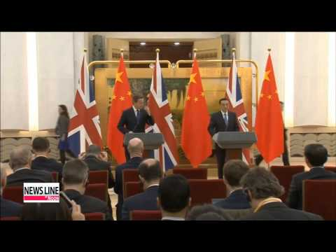 China, UK rev up economic ties through Cameron's visit