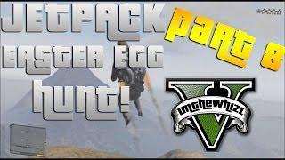 GTA 5: Jetpack Easter Egg Hunt Part 8! The Bat!!