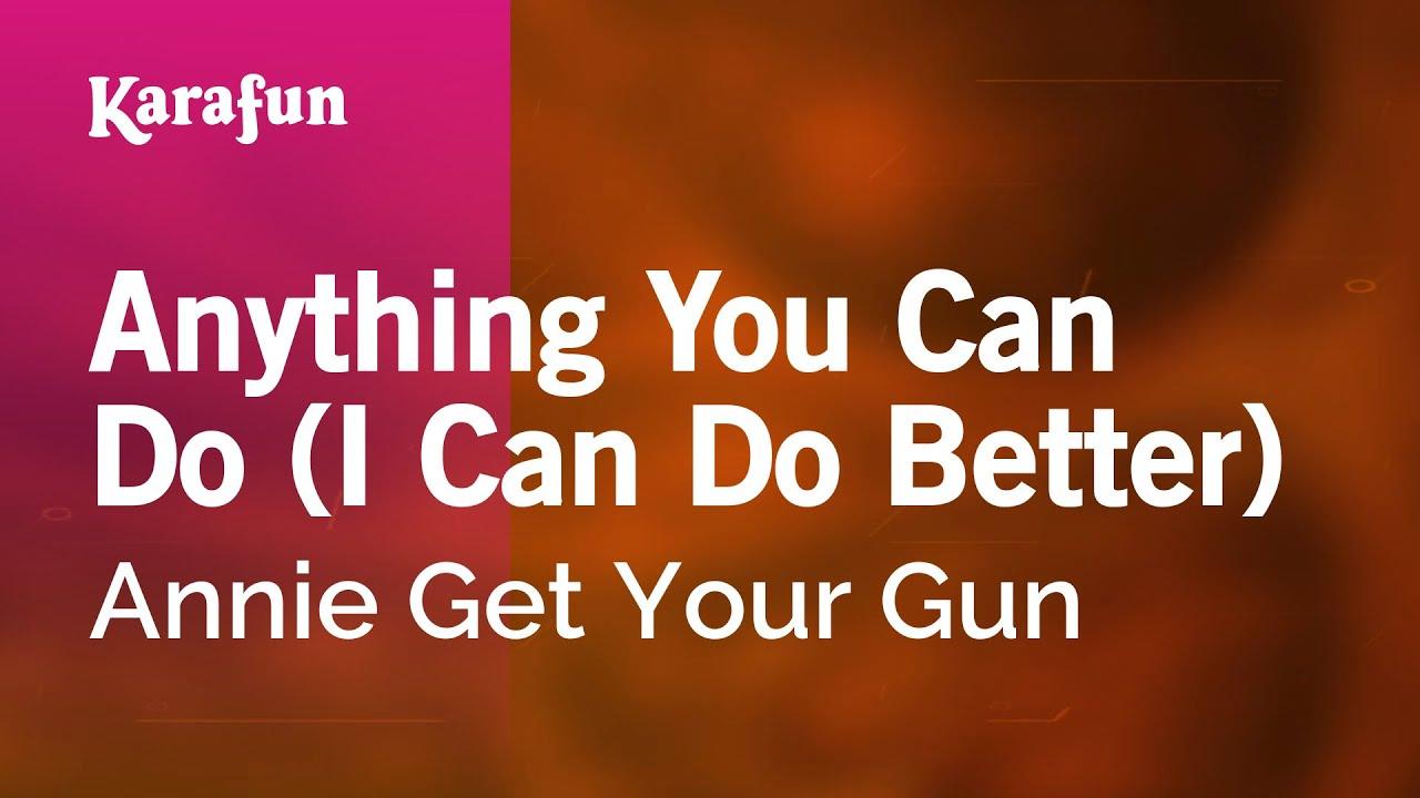 John Barrowman - Anything You Can Do Lyrics | MetroLyrics