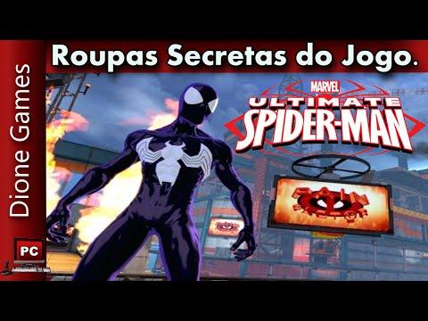Ultimate Spider Man Roupas Secretas do Jogo