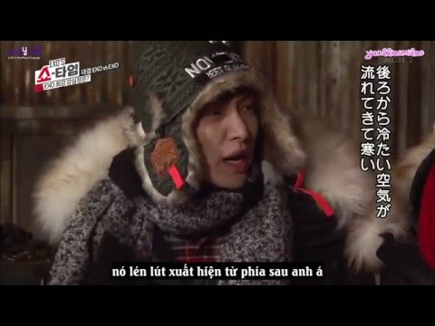 [Vietsub] LAY in haunted house    EXO Showtime Unseen   