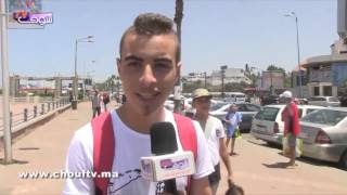 باالفيديو.. مغربي صريح: البحر ماشي حمام باش نديروه خاص بالنساء |