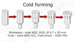 Cold forming simulation in QForm