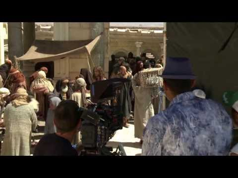 Son of God: Behind the Scenes (Complete Broll) [No Audio] - Diogo Morgado, Amber Rose Revah