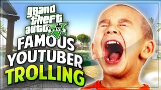 This kid on GTA 5 is a HUGE star! But please no autographs ;) Enjoy the GTA V hilarious trolling! Smack the HELL out of that Like...</div><div class=