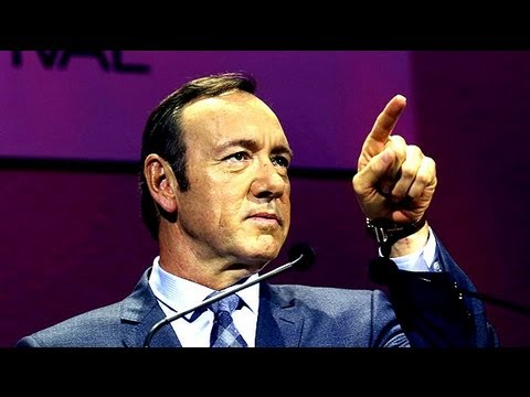 Kevin Spacey urges TV channels to give control to viewers