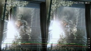 GeForce GTX 650 Vs. Radeon HD 7770/6770 GPU Frame-Rate