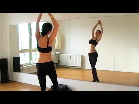 BELLYDANCE DRILLS 1: Hip Slides Lifts and Mayas with Coco!