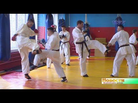 Линевские каратисты готовятся к чемпионату СФО