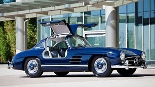 1955 Mercedes-Benz 300 SL Gullwing $1,127,500 SOLD! view on youtube.com tube online.