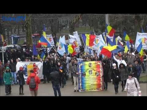 Marea Unire serbată la Chișinău!