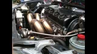 Honda civic turbo turbo 0,9 bar 296hp videos