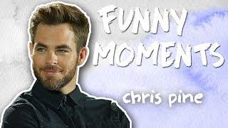 Chris Pine Funny Moments! Singing, Dancing, & Jokes