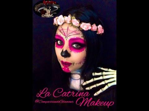 La Catrina Mexicana Makeup colab con  Antesmrtaquesensilla