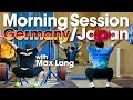 Team Germany Japan Friday Morning Session with Max Lang Snatch Pulls Snatch Balance Part 1