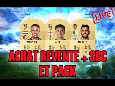 FIFA 19-ACHAT REVENTE + SBC + PACK OPENING