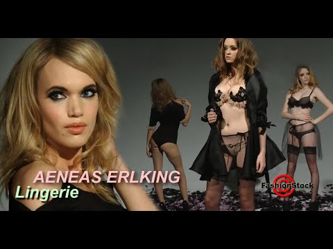 AENEAS ERLKING - Concept LA Fashion Week - FW 2014 Lingerie Sexy Models Show