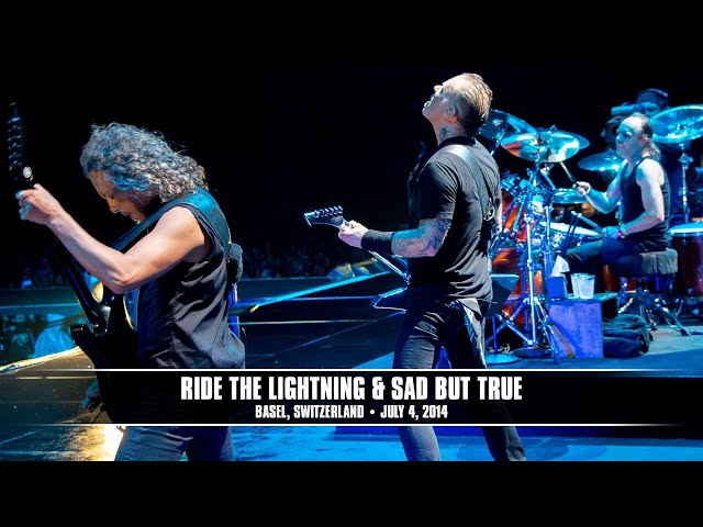 Metallica: Ride The Lightning and Sad But True (MetOnTour - Basel, Switzerland- 2014)