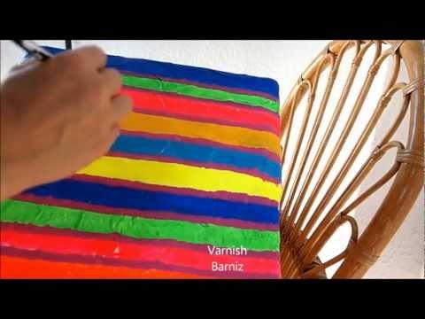 Diy Papier Mache Box - Manualidades: Caja de Papel Maché
