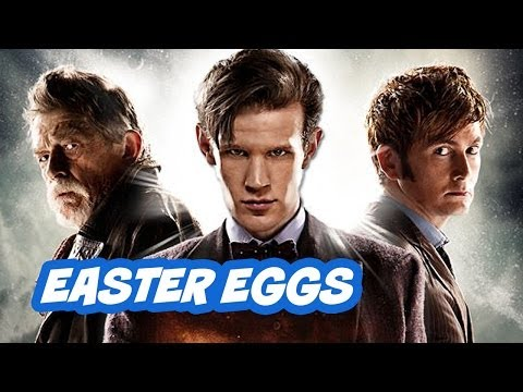Doctor Who 50th Anniversary Episode Easter Eggs - Part 1