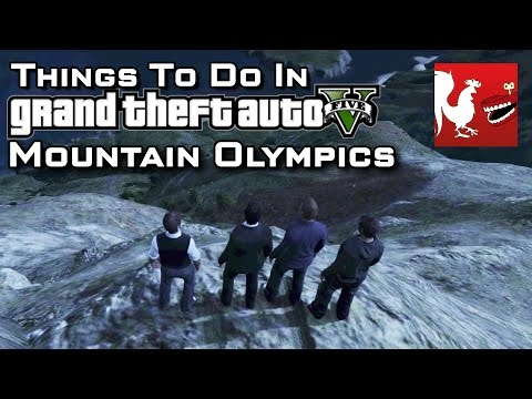 Things to do in GTA V - Mountain Olympics