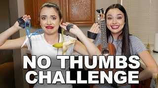 NO THUMBS CHALLENGE - Merrell Twins