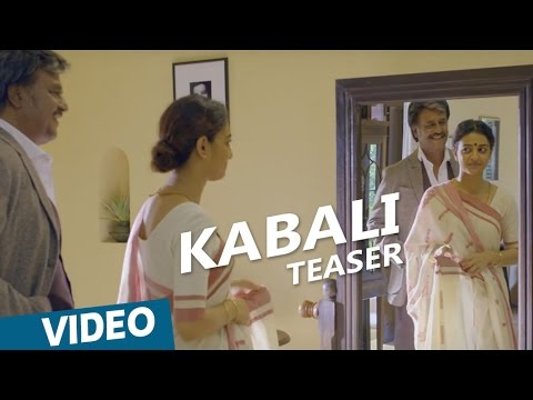 Kabali Tamil Movie Romantic Teaser