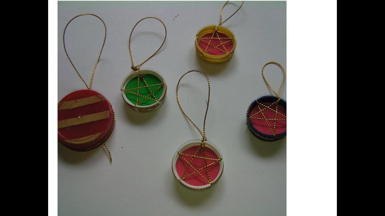 Diy adornos de navidad reciclados recycled christmas - Adornos navidad diy ...